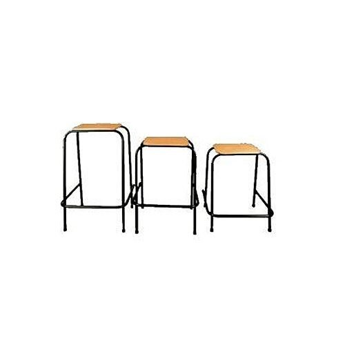 Student Stool Stackable 600mm High