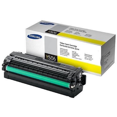 Samsung CLT-Y506L Yellow High Yield Laser Toner Cartridge