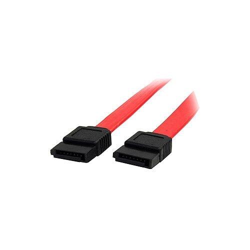 StarTech 6in SATA Serial ATA Cable Male SATA Male SATA 6 Red
