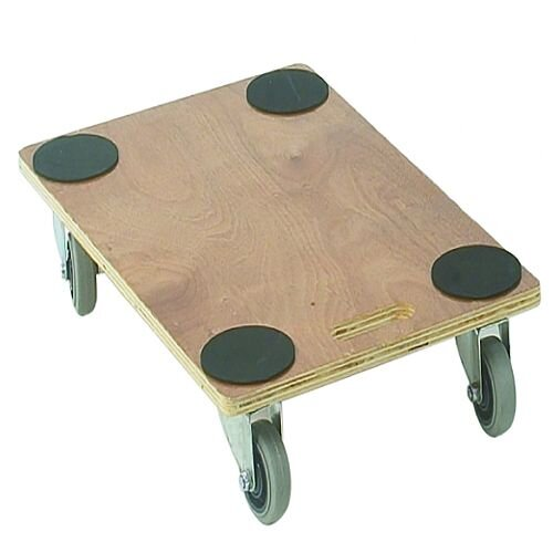 Plywood Dolly 760X460X135mm Brown