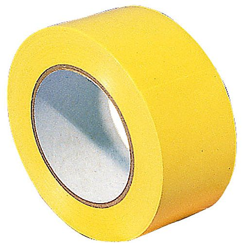 Lane Marking Tape Carton of 18 Rolls Yellow 329596