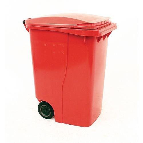 Wheelie Bin 360 Litre 2-Wheel Red 124532