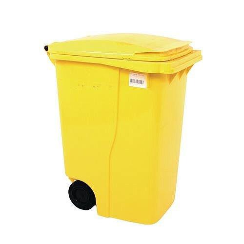 Wheelie Bin 360 Litre 2-Wheel Yellow 124533