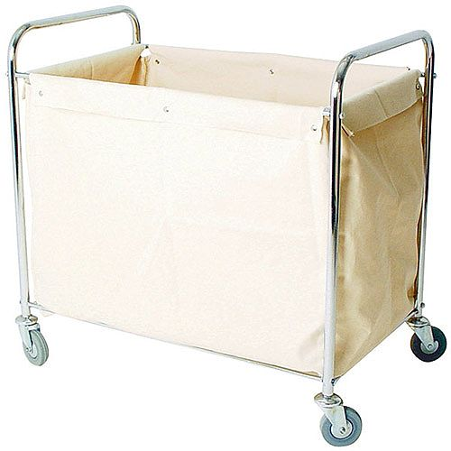 Laundry &Linen Truck with Bag Silver 100kg Capcity 356926