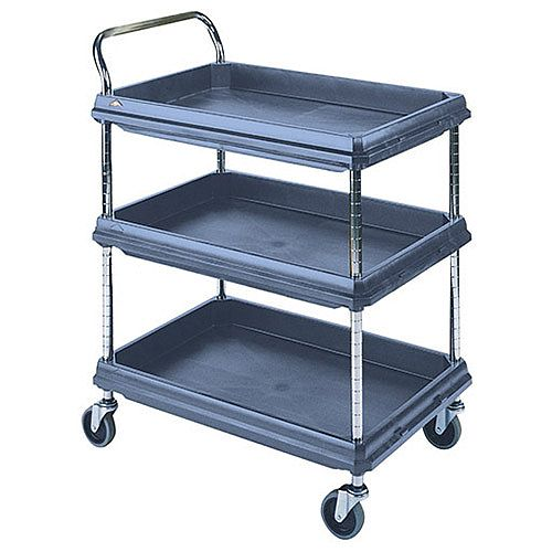 Deep Ledge Trolley Microban 3 Tier H1041 x W832 x D546mm (Pack of 1) 360967