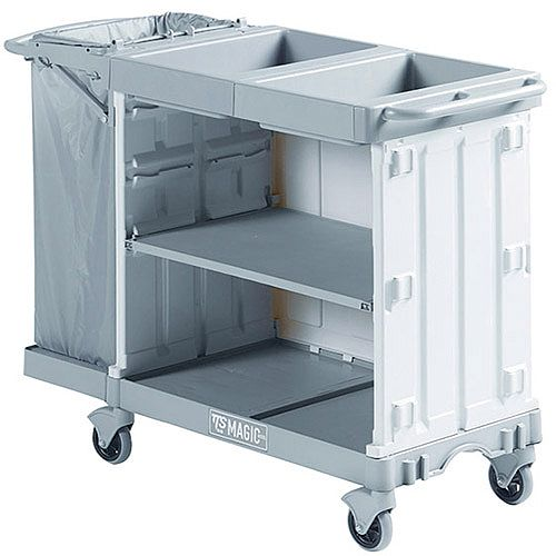 Hotel Maid Service Trolleys - Suitable for 12 to 15 Rooms 381649