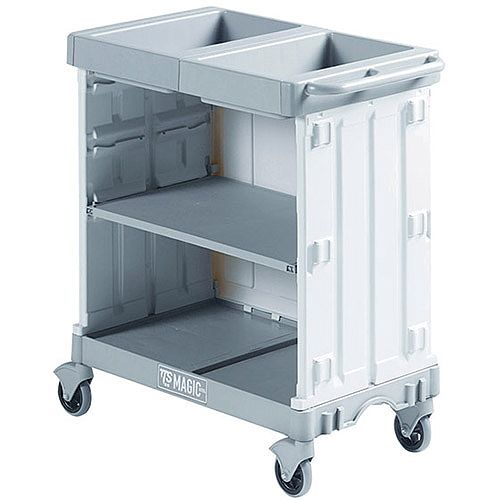 Hotel Maid Service Trolley Magic Hotel Suitable For Cleaning 12 to 15 Rooms 381650