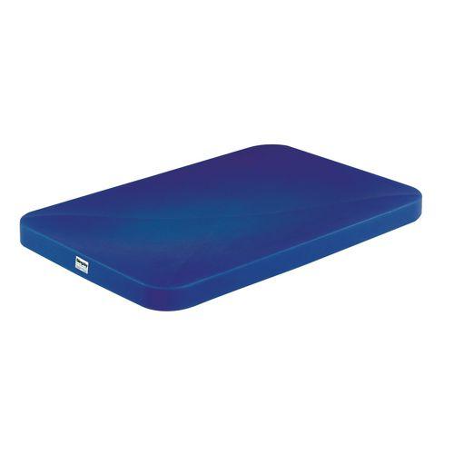 Polypropylene Lid for T322 Low Density 5.5Kg Blue 329067