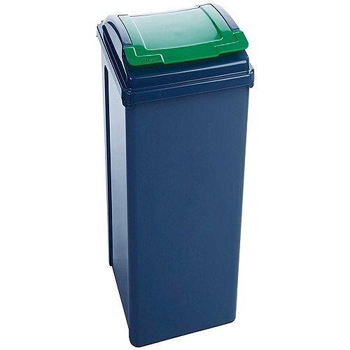 VFM Recycling Bin Green 50L SBY28523 124595