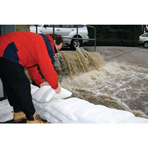 Portable Expanding Floodsacks -Alternative to Sandbags- Capacity 22kg Pack 20 389210