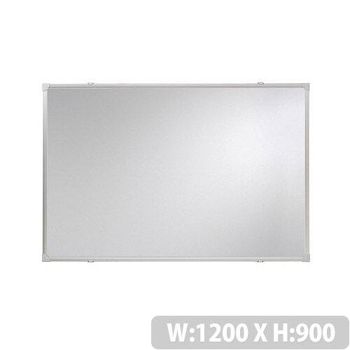 Franken Whiteboard ValueLine 1200x900mm Lacquered Steel Silver SC2703