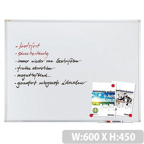 Franken Whiteboard ValueLine 45x60cm Enameled SC3212