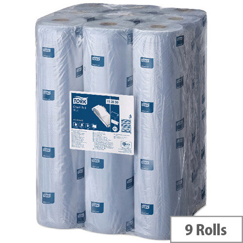 Tork Couch Roll Advanced 56m Blue Pack of 9 152250
