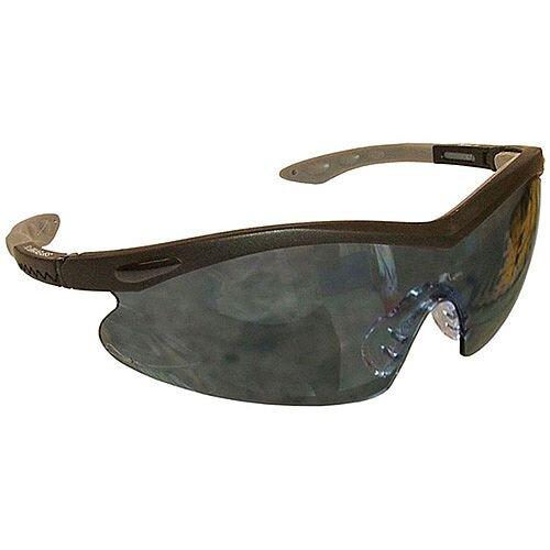 Smoked Wararound Safety Glasses UV Resistant