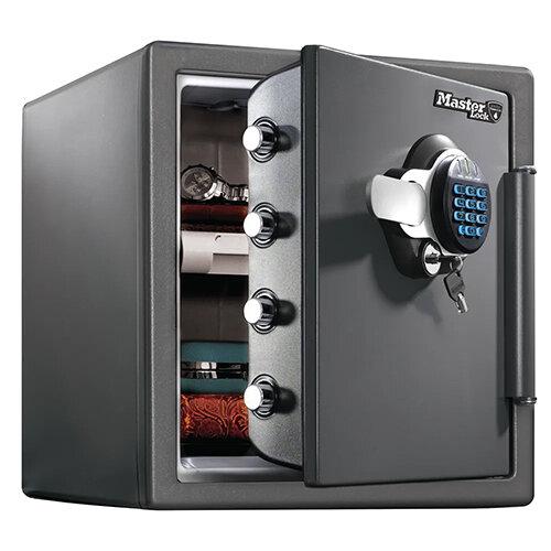 Master Lock 120 Fire-Safe Water Resistant XL 33.6 Litre Black LTW123GTC