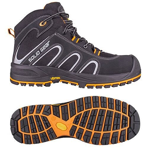 Solid Gear Falcon S3 Shoe Size 45/Size 10.5 Safety Boots
