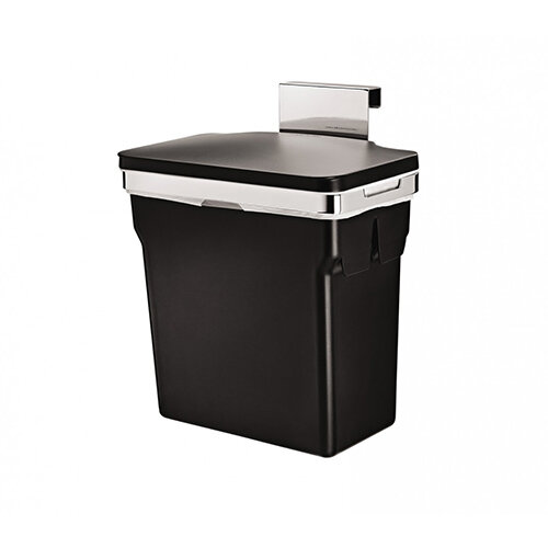 Simplehuman In-Cabinet Bin Chromed Steel With Plastic Bucket 10L CW1643