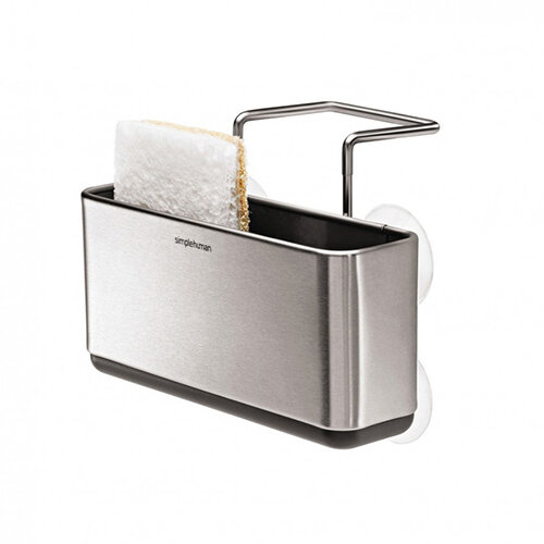 Simplehuman Slim Sink Caddy Brushed Steel KT1134