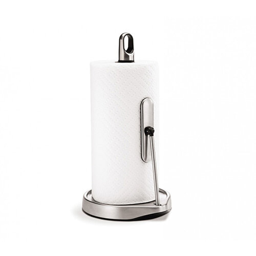 Simplehuman Kitchen Roll Holder Tension Arm, Brushed Steel KT1162