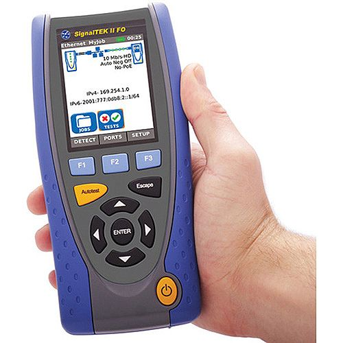 SignalTEK II FO Data Cable Tester