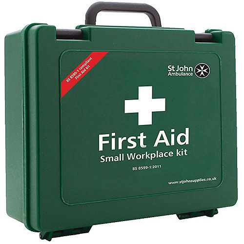 St John Ambulance Workplace First Aid Kit Small 25 Person (Pack of 1) F30607