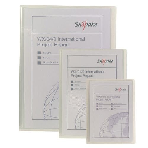 Snopake Superline Presentation Book A5 20-Pocket Polypropylene Clear 11941