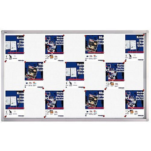 Franken Display Case PRO Magnetic Whiteboard 27 x A4 SK6127