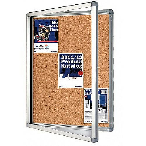 Franken Display Case ECO Outdoor Cork 9 x A4 SK9KE