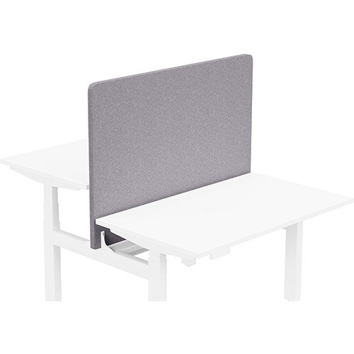 Acoustic Screen For Leap Height Adjustable Bench W1200xH850mm - Camira BLAZER LITE Fabric - Colour Code: LTH65-Pastel