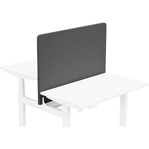 Acoustic Screen For Leap Height Adjustable Bench W1200xH850mm - Camira BLAZER LITE Fabric - Colour Code: LTH70-Solace