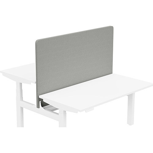 Acoustic Screen For Leap Height Adjustable Bench W1400xH850mm - Camira CARA Fabric - Colour Code: EJ033-Spray