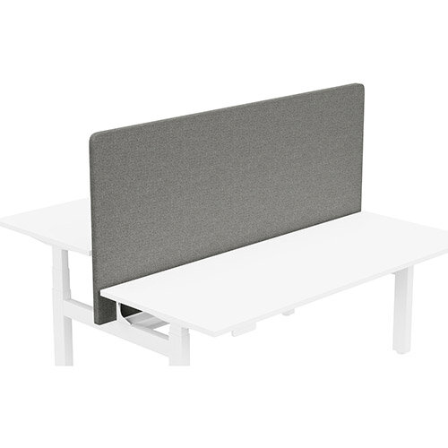 Acoustic Screen For Leap Height Adjustable Bench W1800xH850mm - Camira CARA Fabric - Colour Code: EJ016-Portland