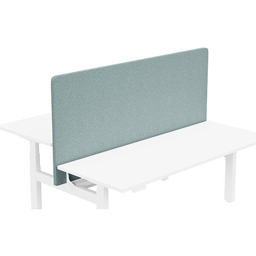Acoustic Screen For Leap Height Adjustable Bench W1800xH850mm - Camira BLAZER LITE Fabric - Colour Code: LTH63-Harmony