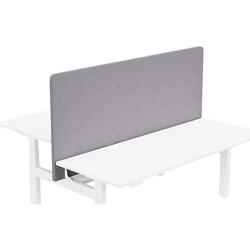 Acoustic Screen For Leap Height Adjustable Bench W1800xH850mm - Camira BLAZER LITE Fabric - Colour Code: LTH65-Pastel