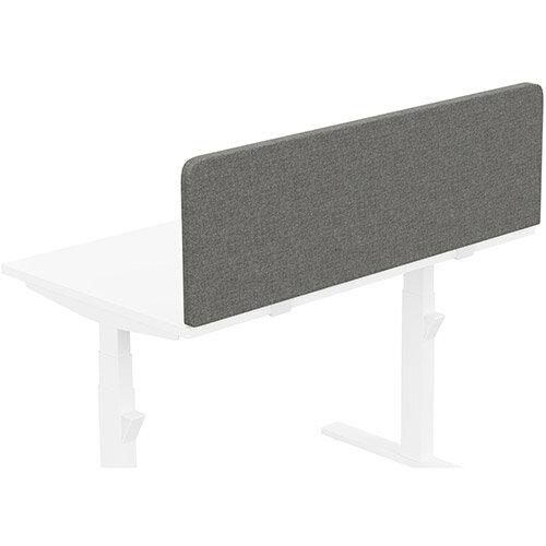 Acoustic Screen For Leap &Zoom Height Adjustable Desks W1200xH380mm - Camira CARA Fabric - Colour Code: EJ016-Portland