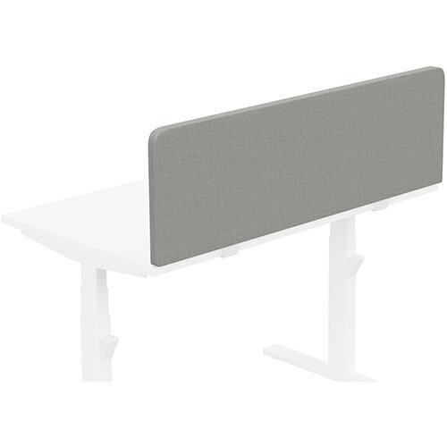 Acoustic Screen For Leap &Zoom Height Adjustable Desks W1200xH380mm - Camira CARA Fabric - Colour Code: EJ033-Spray