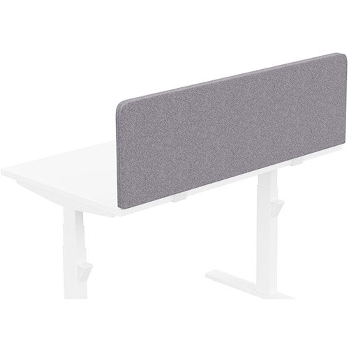 Acoustic Screen For Leap &Zoom Height Adjustable Desks W1200xH380mm - Camira BLAZER LITE Fabric - Colour Code: LTH65-Pastel