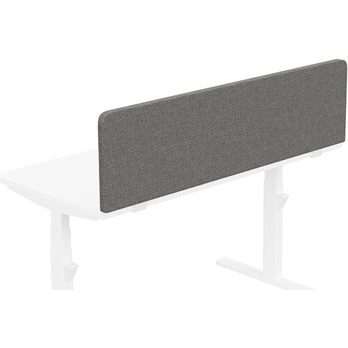 Acoustic Screen For Leap &Zoom Height Adjustable Desks W1400xH380mm - Camira CARA Fabric - Colour Code: EJ016-Portland