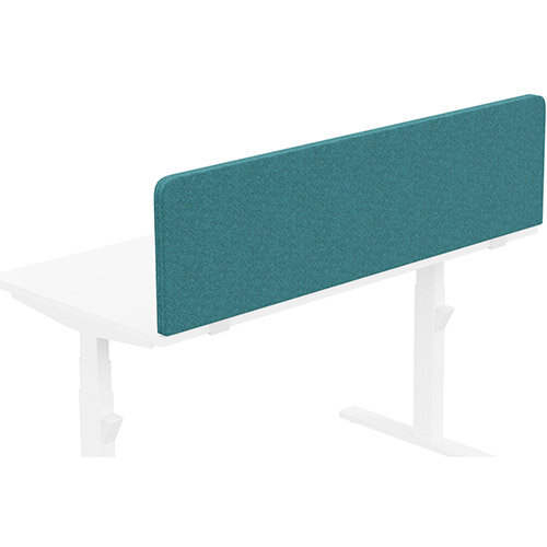 Acoustic Screen For Leap &Zoom Height Adjustable Desks W1400xH380mm - Camira BLAZER LITE Fabric - Colour Code: LTH41-Balance