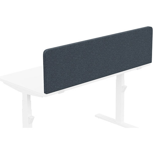 Acoustic Screen For Leap &Zoom Height Adjustable Desks W1400xH380mm - Camira BLAZER LITE Fabric - Colour Code: LTH44-Mood