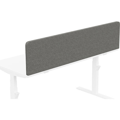 Acoustic Screen For Leap &Zoom Height Adjustable Desks W1600xH380mm - Camira CARA Fabric - Colour Code: EJ016-Portland