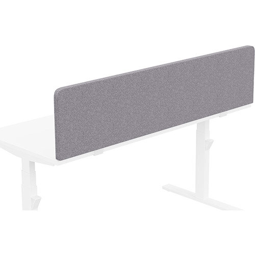 Acoustic Screen For Leap &Zoom Height Adjustable Desks W1600xH380mm - Camira BLAZER LITE Fabric - Colour Code: LTH65-Pastel