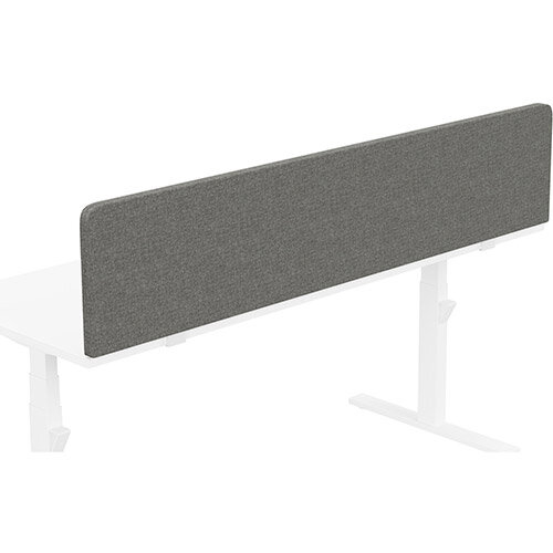 Acoustic Screen For Leap &Zoom Height Adjustable Desks W1800xH380mm - Camira CARA Fabric - Colour Code: EJ016-Portland