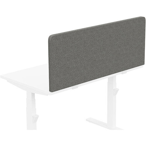 Acoustic Screen For Leap &Zoom Height Adjustable Desks W1200xH480mm - Camira CARA Fabric - Colour Code: EJ016-Portland
