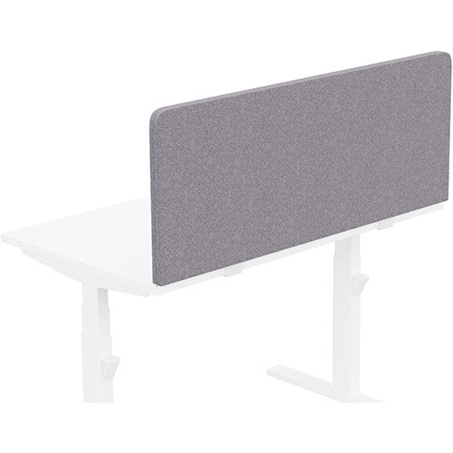 Acoustic Screen For Leap &Zoom Height Adjustable Desks W1200xH480mm - Camira BLAZER LITE Fabric - Colour Code: LTH65-Pastel