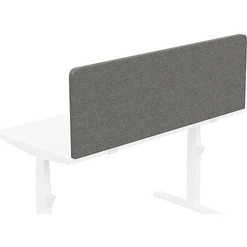 Acoustic Screen For Leap &Zoom Height Adjustable Desks W1400xH480mm - Camira CARA Fabric - Colour Code: EJ016-Portland
