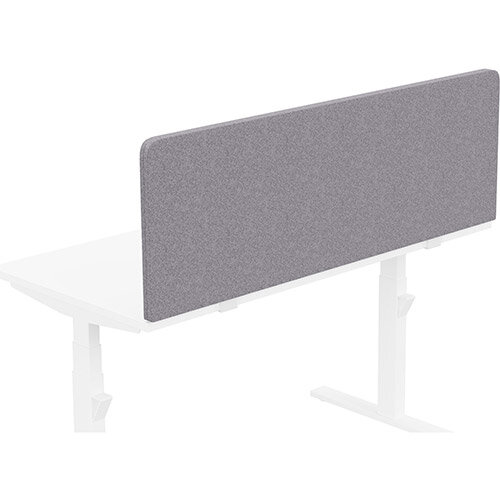 Acoustic Screen For Leap &Zoom Height Adjustable Desks W1400xH480mm - Camira BLAZER LITE Fabric - Colour Code: LTH65-Pastel