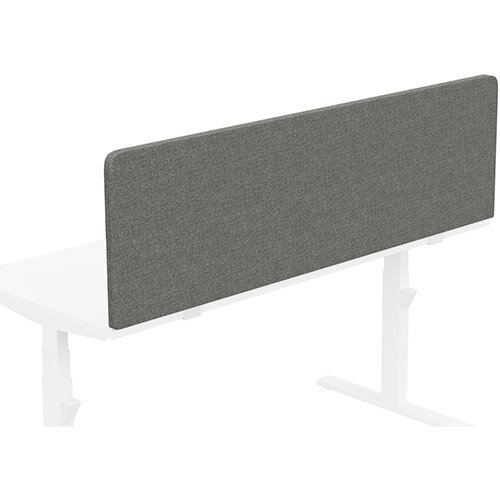 Acoustic Screen For Leap &Zoom Height Adjustable Desks W1600xH480mm - Camira CARA Fabric - Colour Code: EJ016-Portland