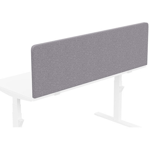 Acoustic Screen For Leap &Zoom Height Adjustable Desks W1600xH480mm - Camira BLAZER LITE Fabric - Colour Code: LTH65-Pastel