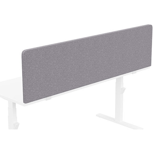 Acoustic Screen For Leap &Zoom Height Adjustable Desks W1800xH480mm - Camira BLAZER LITE Fabric - Colour Code: LTH65-Pastel